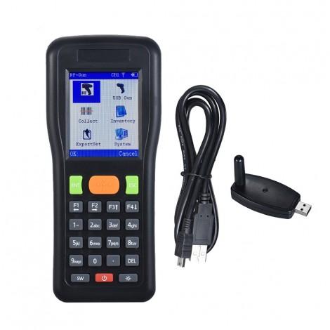 Supermarket warehouse handheld terminal collector wireless wired barcode scanner barcode scanning