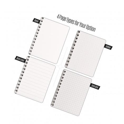Simple Spiral notebook 27.4 * 18.2cm