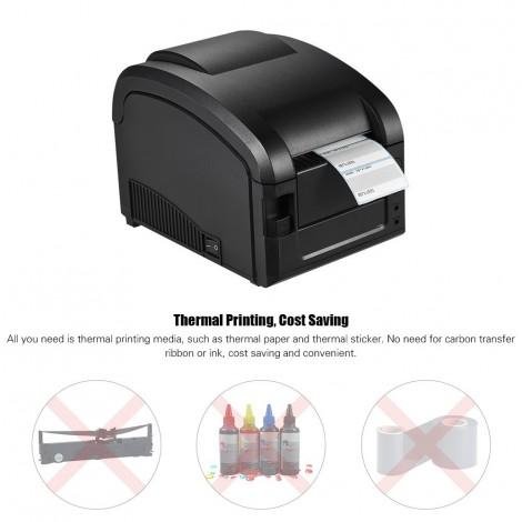 High-speed printing thermal printer graphic printer computer